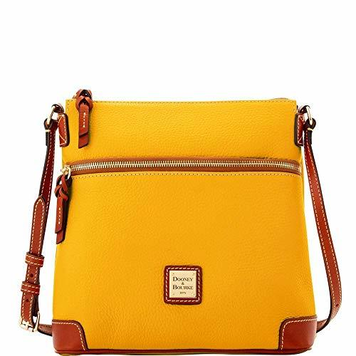 Dooney & Bourke Pebble Crossbody Marigold