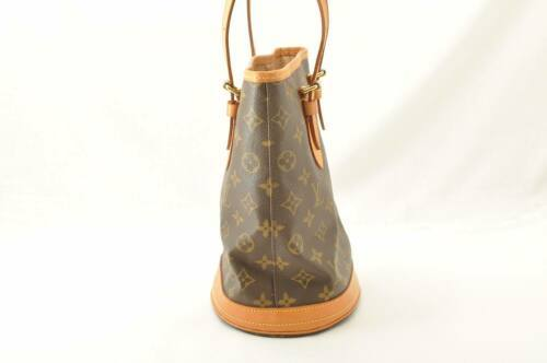 LOUIS VUITTON Monogram Bucket PM Shoulder Bag M42238 LV Auth sa2271 **Sticky image 4