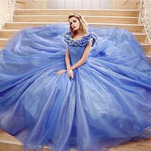 Girl's Princess Sweet 16 Butterfly Ball Gown Cinderella Quinceanera Dres... - $148.99