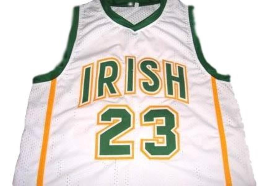 Lebron james irish basketball jersey white 1
