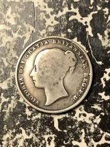 1839 Great Britain 1 Shilling Lot#Q1586 Silver!  - $23.38