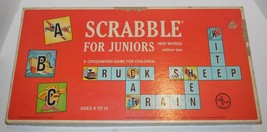 Vintage 1964 Selchow & Righter Scrabble For Juniors Edition Two - $74.25