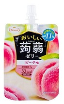 Tarami delicious konjac jelly Peach taste 150gX6 pieces F/S w/Tracking# ... - $33.56