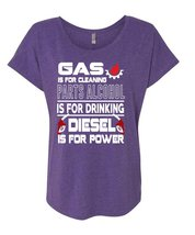 Gas Is For Cleaning T Shirt, Diesel Is For Power T Shirt, Cool Shirt (La... - $27.99+