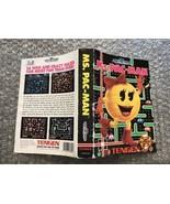 Ms. Pac-Man **ORIGINAL CASE/BOX ART ONLY** Sega Genesis - HEAVY WEAR - $4.90
