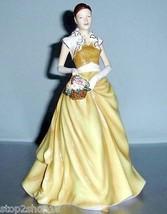 Royal Doulton RACHEL Pretty Ladies Collectible Figurine HN5526 Yellow Go... - $132.90