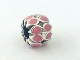 Brighton Mini Ring Of Flower Bead, Pink, J9574F, Fits Mini Only, New - $8.54