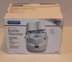 First Years Deluxe Nursery Bottle Cooler/ Bottle Warmer Automatic Shut Off - $17.77