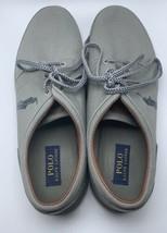 Polo Ralph Lauren Men's Faxon Low Grey Canvas Sneaker Shoe 14D - $64.99