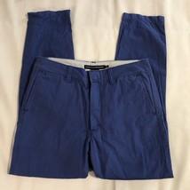 Ralph Lauren Sport Women's 6 Casual Pants Blue Chinos 100% Cotton - $9.98
