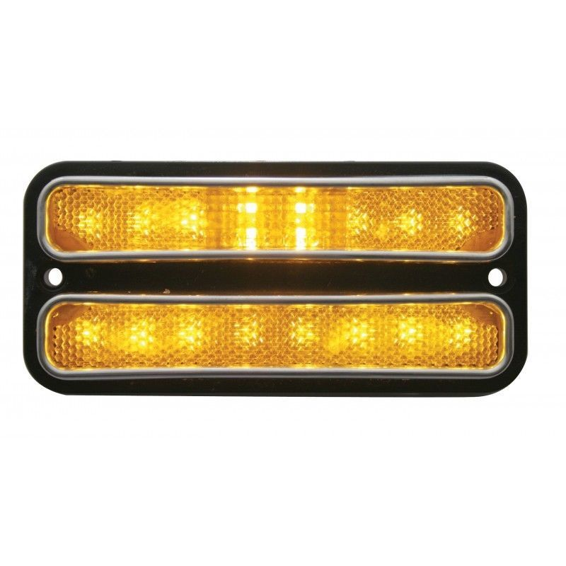 United Pacific CML6872A-R 68-72 Chevy  GMC Truck LED Front/Rear Marker Light Set