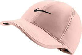 NEW! Nike Women's Feather Light Adjustable Hat-Crimson Tint 679424-814 - $49.38