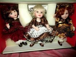 Marie Osmond Tiny Tots Too Sweet Raspberry Cream, Swiss Chocolate Cream & Turtle - $44.50