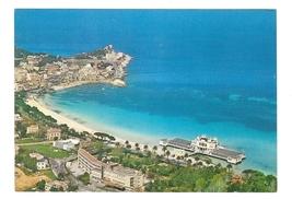 Italy Sicily Palermo Mondello Panorama Coastal Resort Beach Vintage 4X6 ... - $6.69