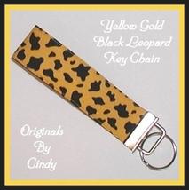 Yellow Gold Black Key Fob - $5.00