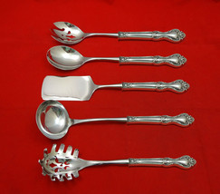 Amaryllis by Manchester Sterling Silver Hostess Set 5pc HHWS  Custom Made - $395.00