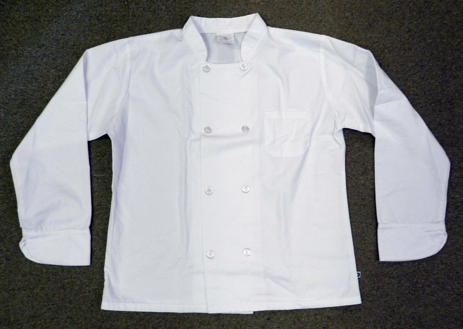 Chef Coat Small Double Breasted White Uniform Jacket Unisex Quality LAB0191 New