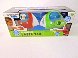 Discovery Kids Spaceship Laser Tag unused in damaged box - $14.84