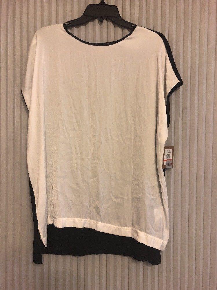 Ellen Tracy Black - White Size XS WOMEN ships N 24h - $26.71