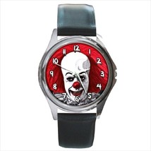 Round Watch pennywise clown it scary clown - $19.00