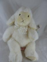 "Russ Berrie Baby Lamb Stuffed Animal Plush Toy Bean Bag Seat 12"" Mint w ... - $19.79"
