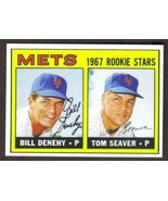 TOM SEAVER Rookie Card RP #581 Mets RC 1967 T Free Shipping - $2.95