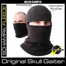 Schampa Warm Skin Skull Gaiter Double Layer Fleece Hat NWT