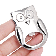 Owl Shape Bottle Can Opener Wrench for Beer Bottle Wine Kitchen Gadgets  - £3.90 GBP