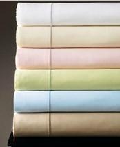 Sferra Marcus Green Cal King Sheet Set Solid Neiman 100% Cotton Sateen 4... - $199.00