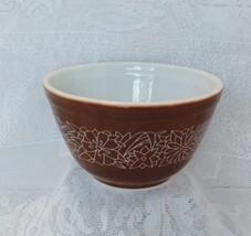 Pyrex Nesting Bowl, Woodland Pattern, Small, Model 401, 1-1/2 pint size - $10.00