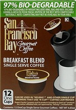 San Francisco Bay OneCup, Breakfast Blend, 72 Single Serve Coffees - $59.21