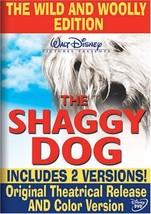 Disney The Shaggy Dog (Wild & Woolly Edition) (DVD, 1959)