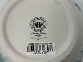 Fitz And Floyd Paisley Park Floral Soup Bowl 26oz - $21.73