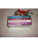 Lillian Jackson Braun Mystery Books The Cat Who 4 paperbacks Sealed Box ... - $39.95