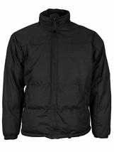 Men's Heavyweight Quilted Insulated Fleece Lined Full Zip Puffer Jacket XL