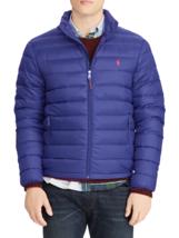 Polo Ralph Lauren Mens Quilted Down Puffer Blue Jacket XL 7203-3 - $162.81