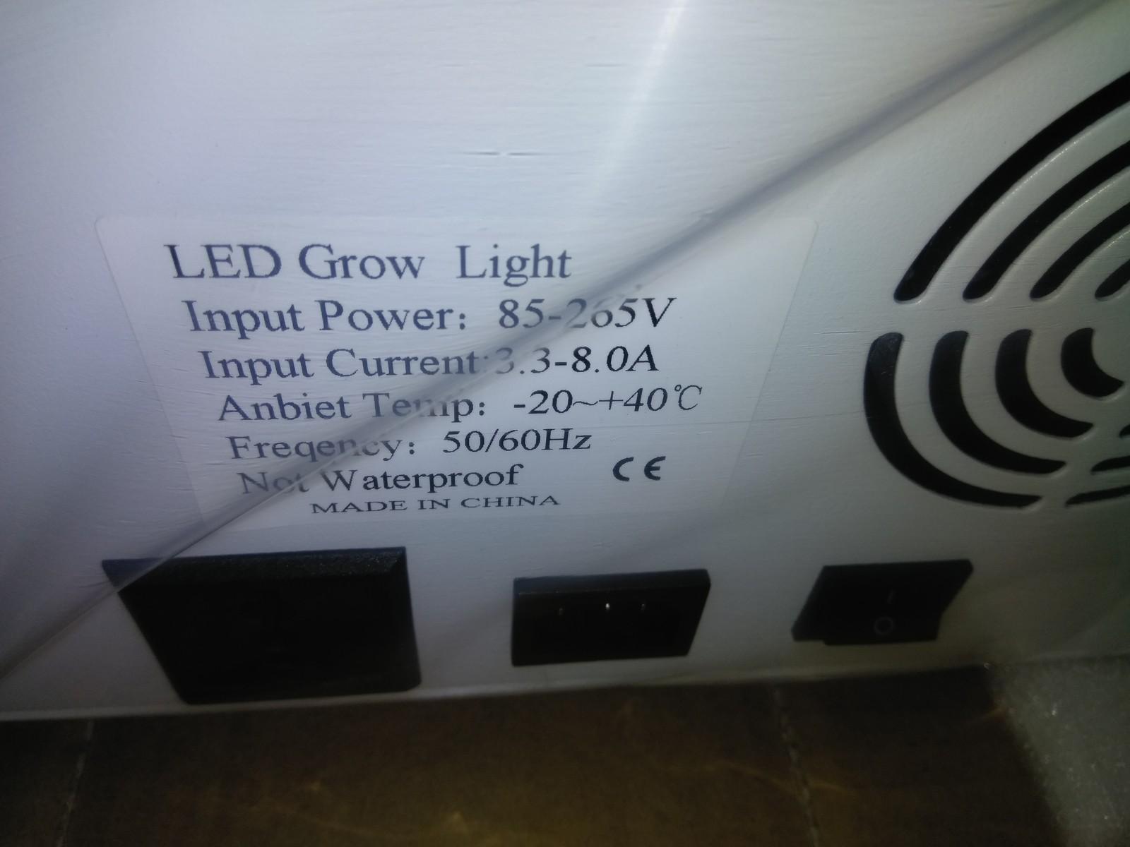 1000 Watt Led Grow Light Full Spectrum Indoor Gardening Plants Flower Veg