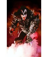 "KISS Gene Simmons ""Fire Demon"" Custom ""24 x 39.34"" Inch Poster - Rock Band  - $60.00"