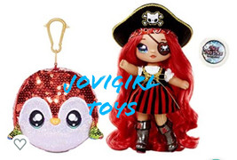 Na Na Na Surprise Becky Buckaneer Fashion Doll Sequined Sparkle New! Ships Today - $36.99