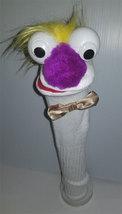 "D9 * Basic Custom ""Blonde Flowing Hair w/Bow Tie""  Sock Puppet * Custom ... - $5.00"