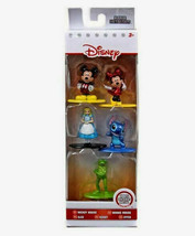Nano Metal figs Disney 5 Pack Queen Hearts Lilo Gizomo Scrooge  Cheshire cat  - $10.05