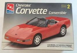 AMT ERTL 1/25 1993 Chevrolet Corvette Convertible Model Kit #8607 - $10.99