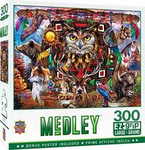 300 Piece Jigsaw Puzzle for Adult, Family, Or Kids - Animal Totems by Masterpiec - $9.29