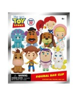 3D Figural Foam Bag Clip Disney Series 22 Toy Story Classic Mystery Pack... - $16.95