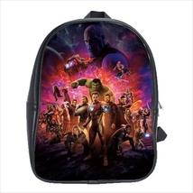 School bag iron man captain america avengers black widow thor hulk 3 sizes - $38.00+