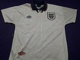 old soccer Jersey maglia  england  umbro  - $39.60