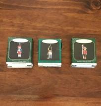 3 Clothespin Soldier Series Hallmark Keepsake Ornaments Miniature #1 3 4... - $15.47