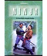DVD Grand Master HOSHINO'S NINJA SERIES Volume 1 Ninja Style Kenjutsu Pa... - $21.00