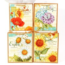 7 1/2W x 9H x 4G Medium Garden Of Inspiration On Matte Gift Bag, 4 Designs, Case - $180.00