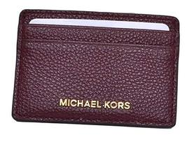MICHAEL Michael Kors Card Holder Burgundy Handbags & Accessories - $63.70
